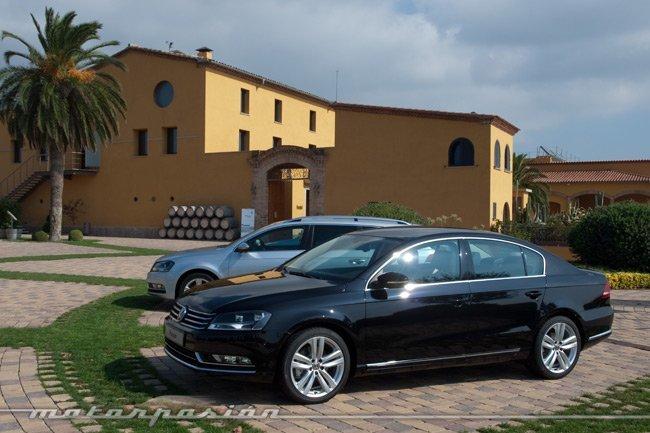 Presentación del Volkswagen Passat 2011 en Barcelona