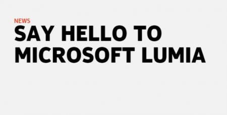 Microsoft Lumia 605x307