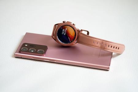 Samsung Galaxy Note 20 Ultra y Galaxy Watch 3