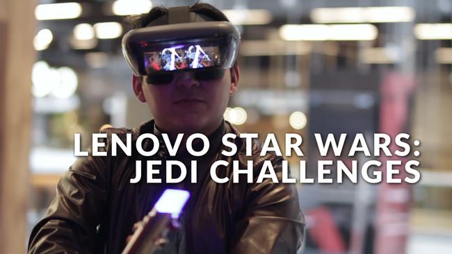 Fuimos Jedi por unos momentos gracias a la tecnología de Lenovo, te mostramos en video cómo nos fue
