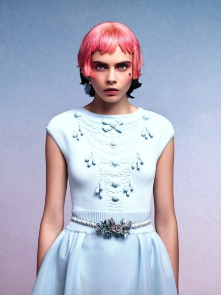 Chanel Crucero 2012, para gustos los colores