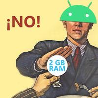 Los móviles con 2 GB de RAM o menos tendrán que usar Android Go en vez de la versión estándar