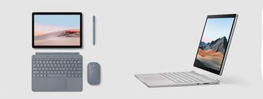 La Surface Go 2 y el Surface Book 3 ya son una realidad: estos son todos los detalles de lo más nuevo de Microsoft