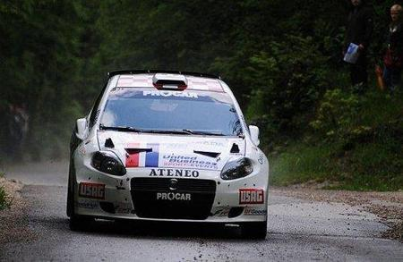 Luca Rossetti se afianza en el liderato del ERC con su victoria en Croacia