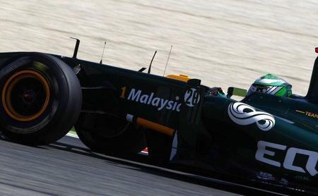 GP de España F1 2011: Tony Fernandes celebra un gran resultado de Team Lotus