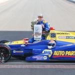 El rookie Alexander Rossi gana la 100º edición de las 500 millas de Indianápolis