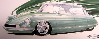 1964 Citroën ID19 Hot Rod