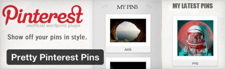 Pinterest plugin Wordpress