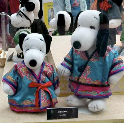 Foto de Snoopy vestido por las mejores firmas de la alta costura (1/17)
