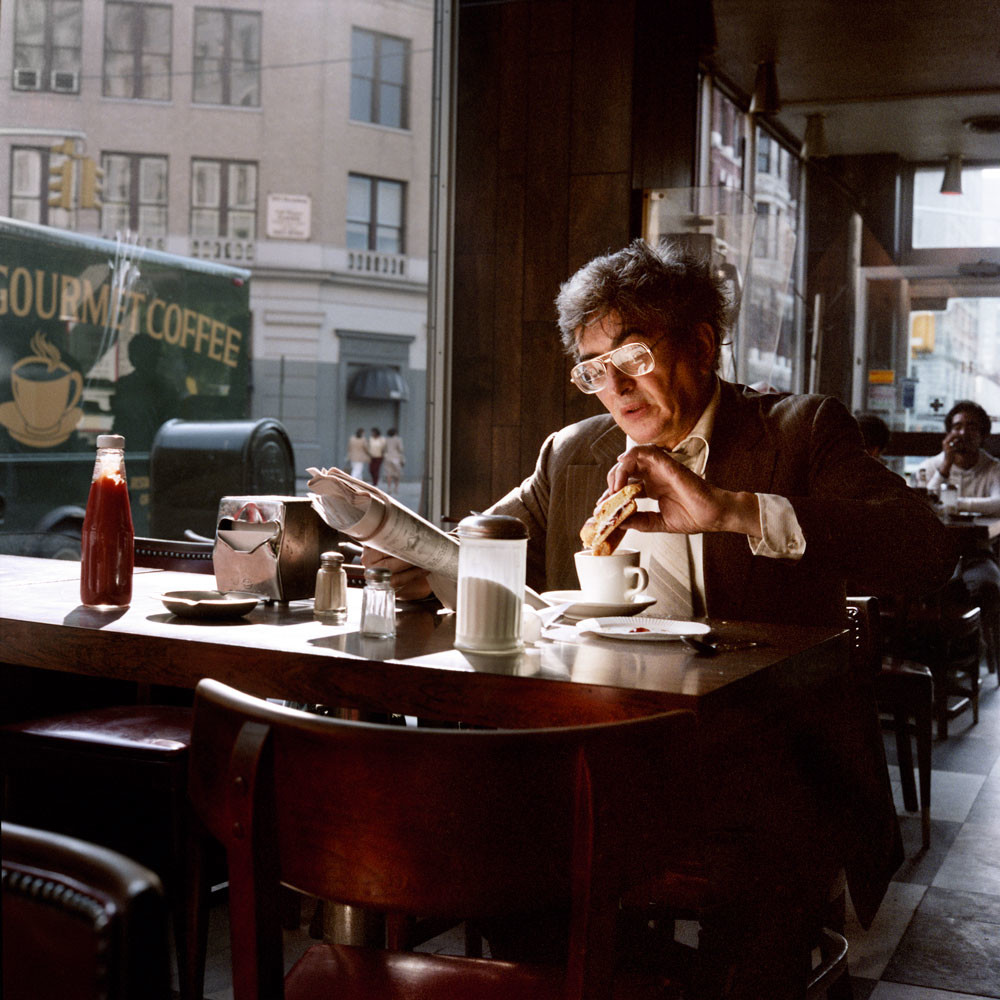 Coffee And A Sandwich New York City 1985
