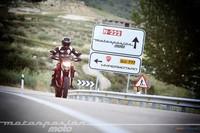 Ducati Hypermotard, prueba (conducción en autopista y pasajero)