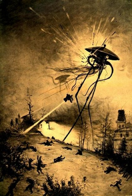 The War Of The Worlds By Henrique Alvim Correa 14 Colored