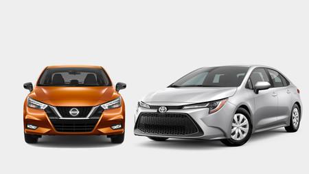 Nissan Versa Vs Toyota Corolla 4