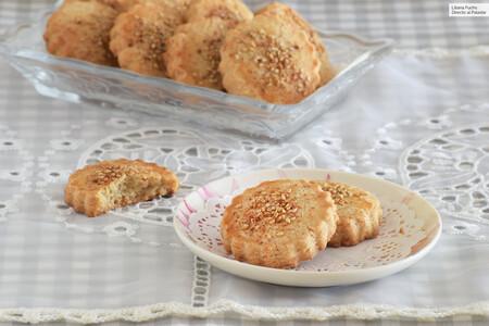 Receta de pastas mantecadas de canela, galletas con sabor a pueblo para alegrar las tardes en casa