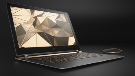 Hp Spectre 13 3 Right Facing Paired With Wireless Mouse