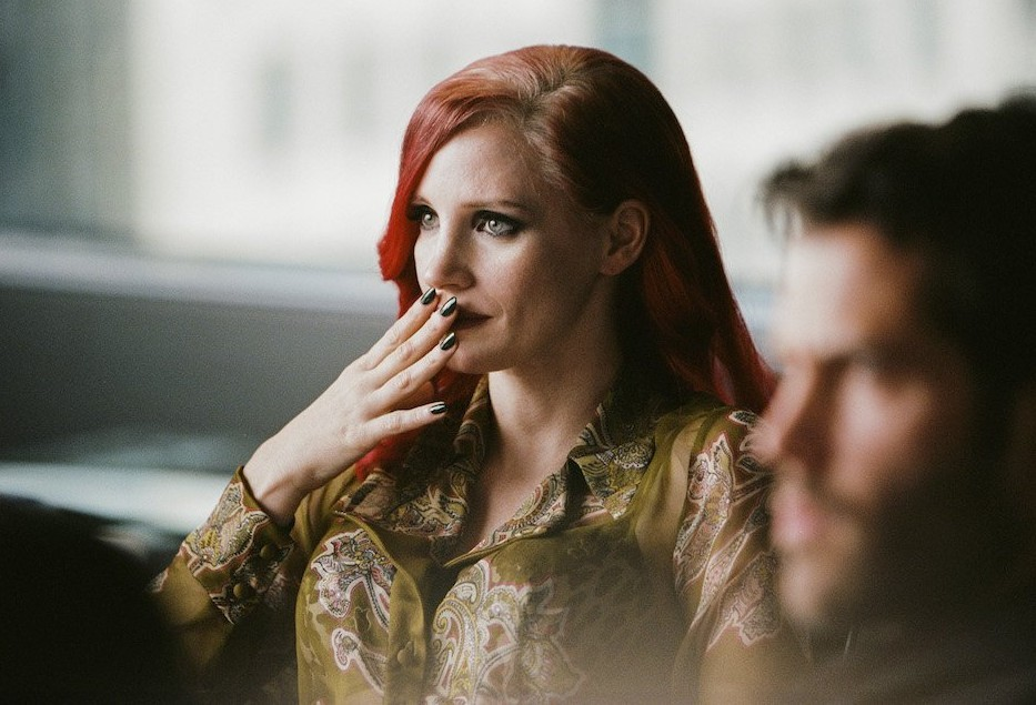 Jessica Chastain en The Death and Life of John F. Donovan