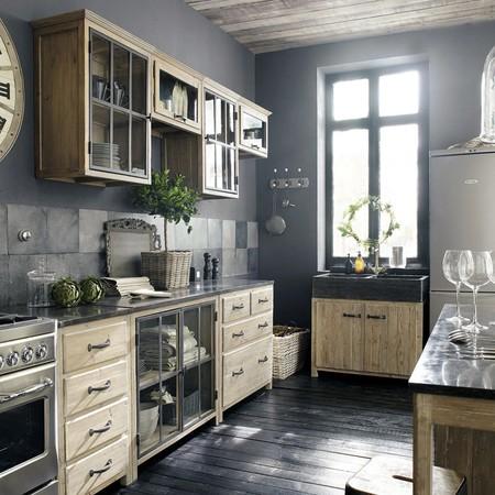Mueble Bajo De Cocina De Pino Reciclado Con Fregadero 1000 4 5 121775 3
