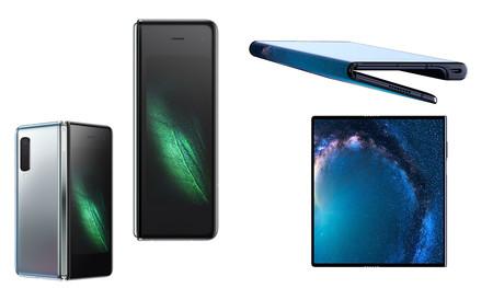 Huawei Mate X vs Samsung Galaxy Fold: comparativa entre los primeros smartphones plegables