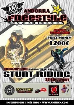 Primer campeonato de Freestyle Stunt Riding Encamp 2011