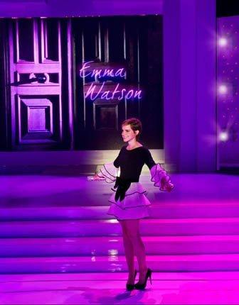 Emma Watson, primeras imágenes con Lancôme