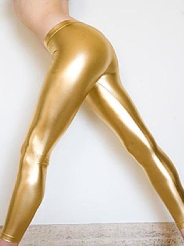 Leggins dorados