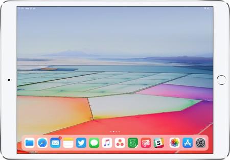 iPad vacío