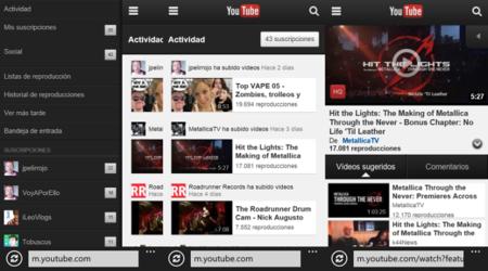YouTube en Windows Phone, ¿qué opciones hay?
