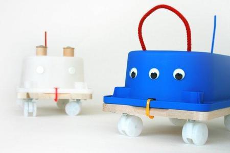 Un correpasillos fabricado con artículos de Ikea