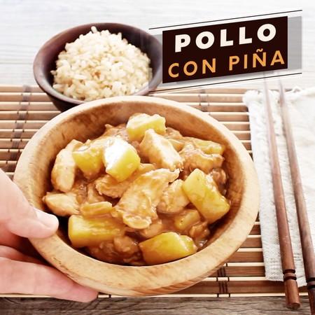 Pollo Con Pina