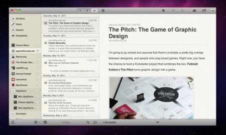 Reeder aterriza en la Mac App Store con su primera versión final