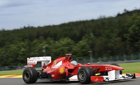 GP de Bélgica F1 2011: Fernando Alonso incómodo ante las condiciones meteorológicas