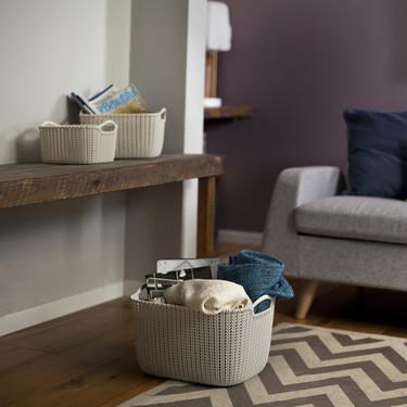 Tres ideas para organizar con cestas, más allá del dormitorio o el baño