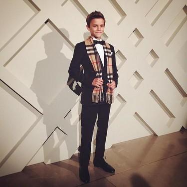 Romeo Beckham una estrella 'Desde Londres con amor'