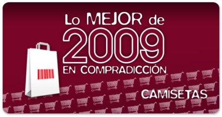 Vota lo mejor de 2009 en Compradicción: mejores camisetas