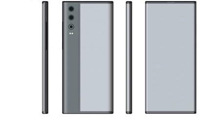 Huawei patenta un sorprendente móvil que mezcla lo mejor del Xiaomi Mi MIX Alpha con el Huawei Mate XS