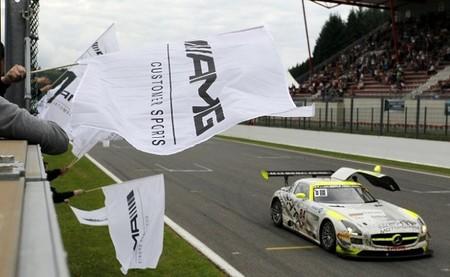 Mercedes también triunfa en las 24 horas de Spa 2013