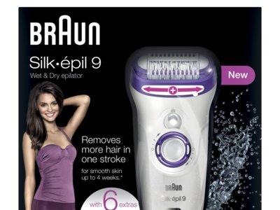 Depiladora Braun Silk-épil 9 por 59 euros en Amazon