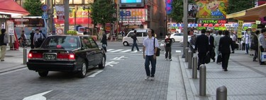 Los japoneses están empezando a alquilar coches que no usan para conducir, sino para cobijarse del mundo exterior