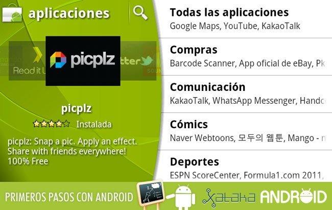 Primeros pasos en Android: Aplicaciones básicas