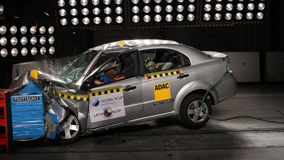 Chevrolet Aveo El Auto Ms Vendido En Mxico Reprueba
