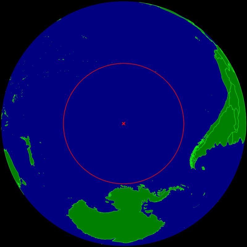 Este es el lugar donde cientos de naves espaciales se estrellan para morir en el fondo del océano