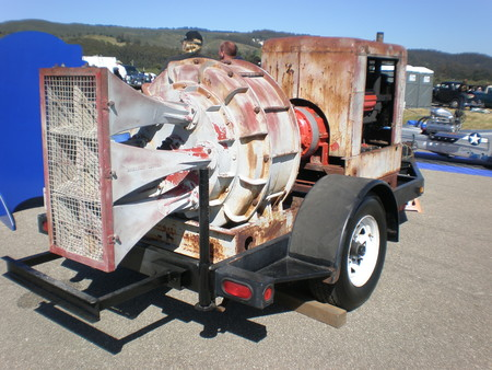 Las sirenas de aviso con motor de 180 caballos y 3 toneladas de peso que se escuchaban a 40 kilómetros