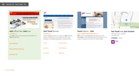 La búsqueda de Windows 8.1 tendrá anuncios de Bing
