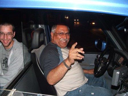 Taxista feliz
