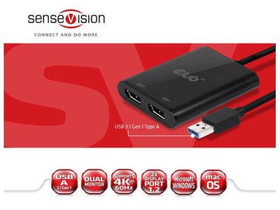 ¿Te faltan puertos HDMI o DisplayPort en el PC? Este adaptador USB te da dos extra compatibles con 4K/60Hz