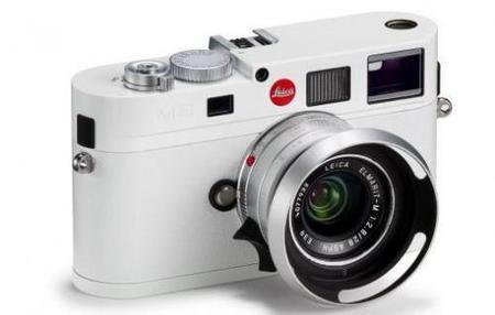 Edición limitada de una Leica blanca M8