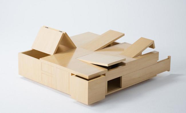 Mesas multifuncionales para espacios peque os - Mesas espacios pequenos ...