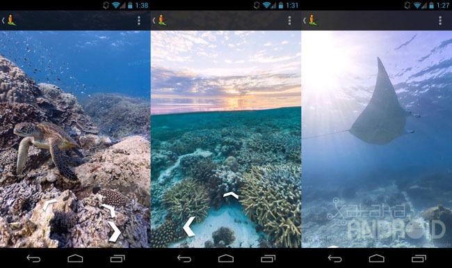 Google Maps y Street View en los océanos