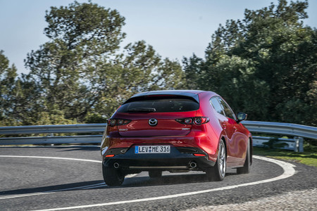 Mazda3 2020 prueba