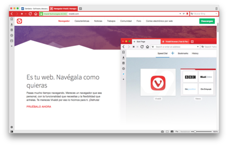 Navegador Vivaldi Navegador Web Rapido Y Flexible 2017 12 18 19 03 19
